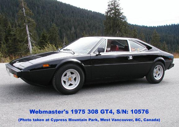 Ferrari Dino 208/308 GT4 Registry